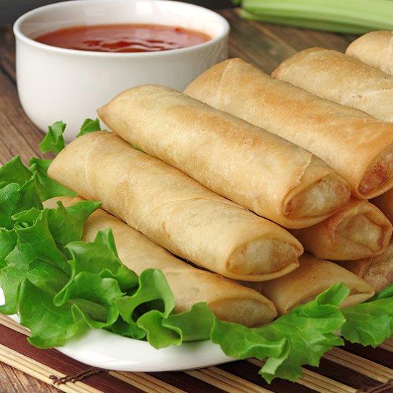 Lumpia (Filipino Spring Rolls) Recipe