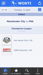 Descargar WOSTI Sports TV Guide para PC ✔️ (Windows 10/8/7 o Mac) 3