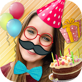 Snap birthday photo filters