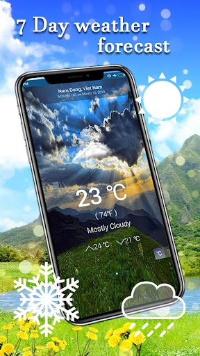 Daily Weather - Live Forecast Free 1.3 screenshots 3