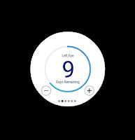 Screenshot of 1800CONTACTS App