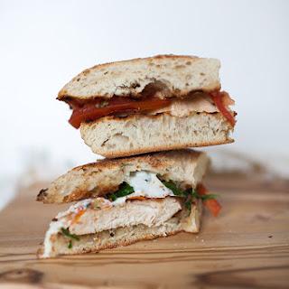 Chicken Pesto Caprese Sandwich Recipe