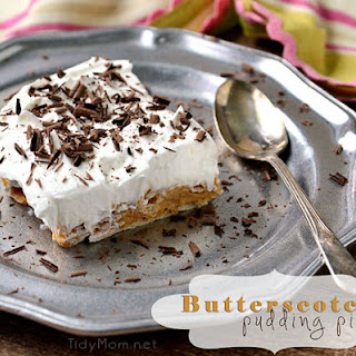 Butterscotch Pudding Pie