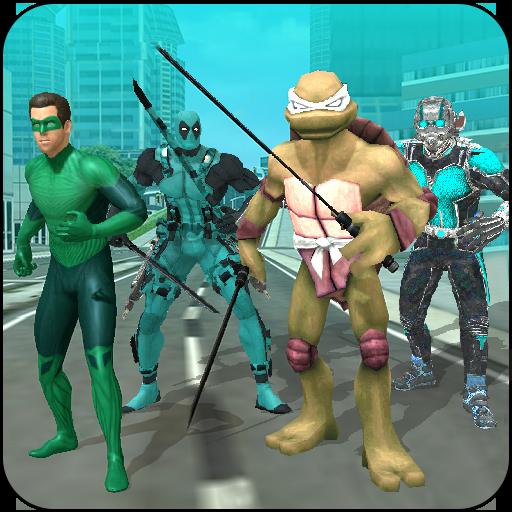 League Of Heroes VS Super Villains