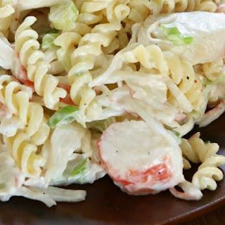 Weight Watchers Deli Crab Salad.