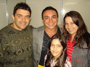 """Photo: Eu, Cilene, Daniele e o cantor Marquinhos Moura (lembram de """"meu mel não diga adeus..."""" ?)"""