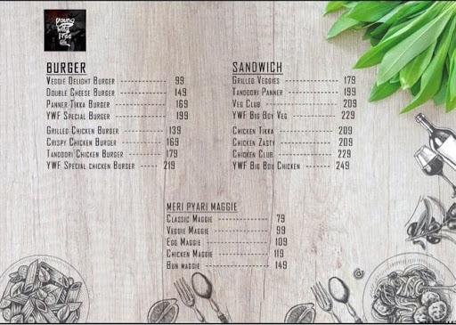 Young Wild Free Cafe menu 3