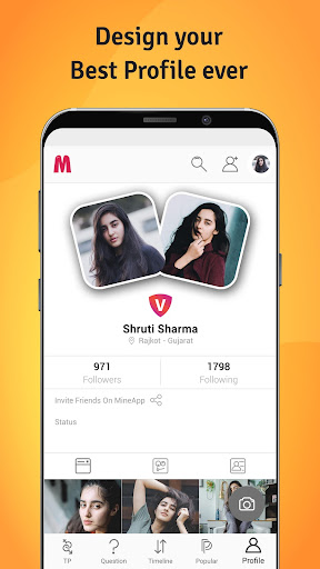 MineApp - Truly Indian Social App screenshots 3