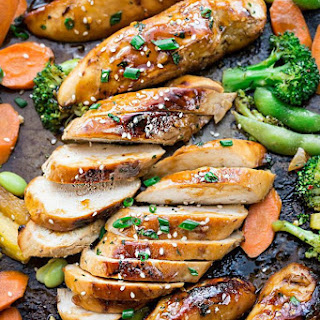 Sheet Pan Teriyaki Chicken with Vegetables