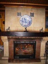 Photo: What a great fireplace.... on a boat!
