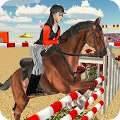 Crazy Horse Jumping & Racing Stunts Game