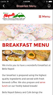 Bella Napoli Bakery- screenshot thumbnail