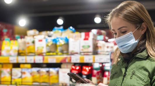 Los supermercados ya venden mascarillas