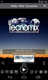 Radio Web Tecnomix- screenshot thumbnail