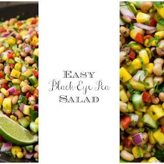 Easy Black-Eyed Pea Salad.