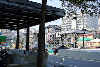 Photo: 工程進度延宕的地下化計畫