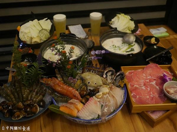 灰鴿/鍋 超人氣海鮮火鍋盛食~浮誇海鮮拼盤