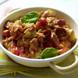 Chicken, Sausage and Tomato Stew.