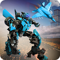 Futuristic Airplane Robot - Transformation Games icon