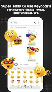 Download LGBT Emoji Sticker Keyboard For PC Windows and Mac apk screenshot 4