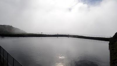Noorse ingenieurs ontwierpen deze reservoirs in de bergen.