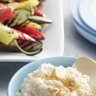 Grilled Vegetables and White Bean Dip
