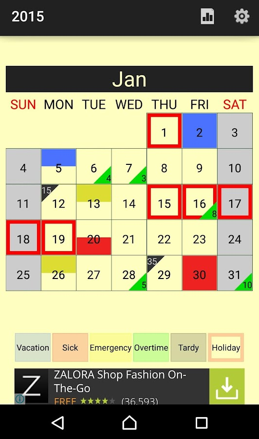 Attendance Planner - Android Apps On Google Play