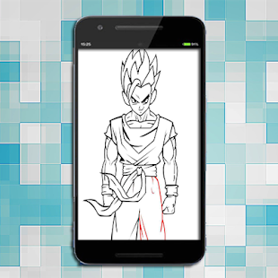 How To Draw Goku Super Saiyan For Pc Windows 7 8 10 And Mac