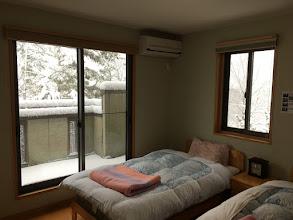 Photo: 寝室まで