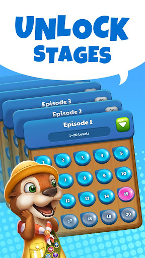 Aqua Blast: Free Match 3 Puzzle Games 2.2.1 screenshots 1