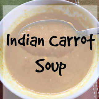 Indian Carrot Soup.