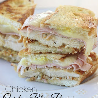 Chicken Cordon Bleu Panini