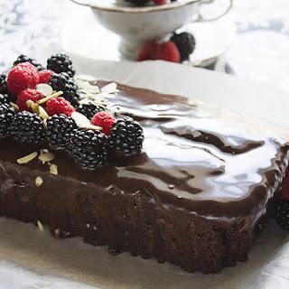 Chocolate Fudge Loaf Cake.