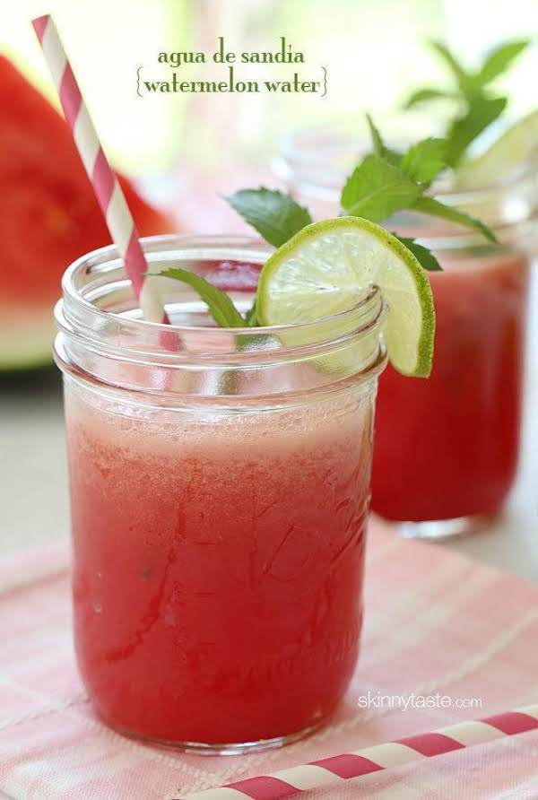 Agua De Sandia (watermelon Water) Recipe
