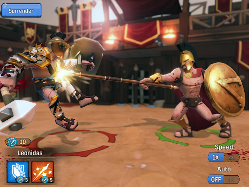 Gladiator Heroes Clash: Fighting and strategy game  screenshots 15