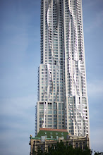 Photo: New York by Gehry overbearing