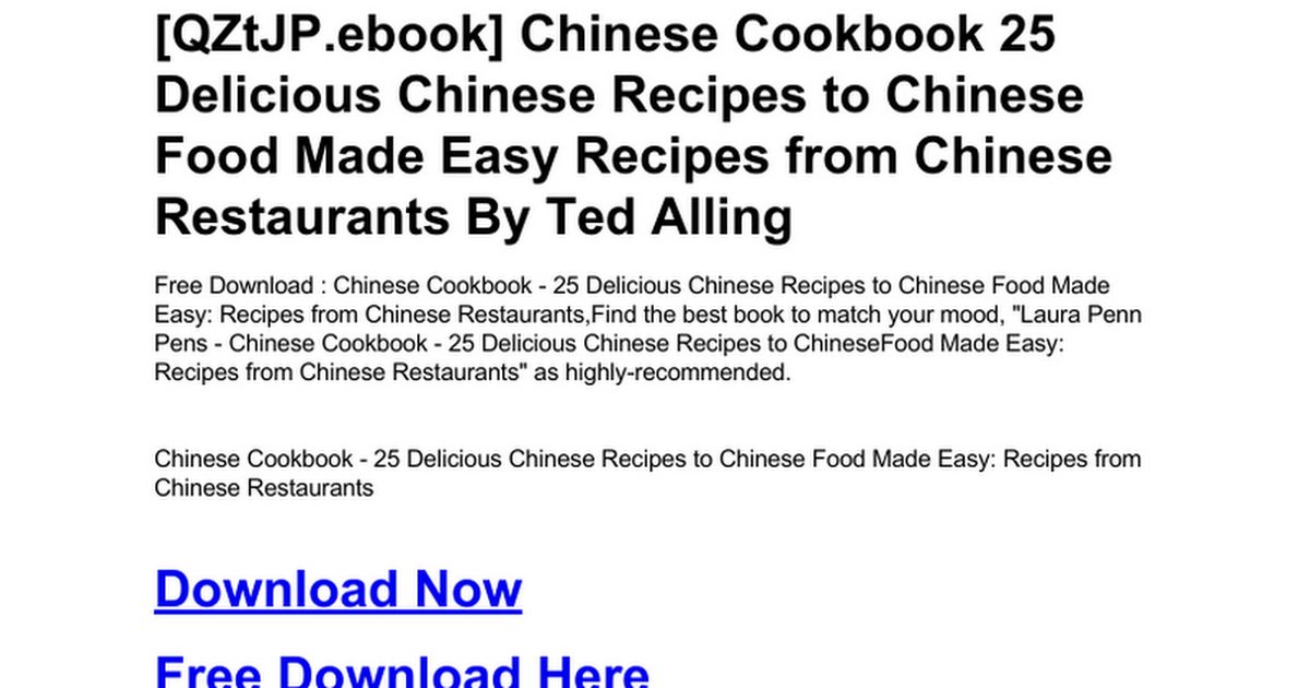 Chinese cookbook 25 delicious chinese recipes to chinese food made chinese cookbook 25 delicious chinese recipes to chinese food made easy recipes from chinese restaurantsc google docs forumfinder Images