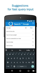 Smart Search & Web Browser – light & fast engine Screenshot