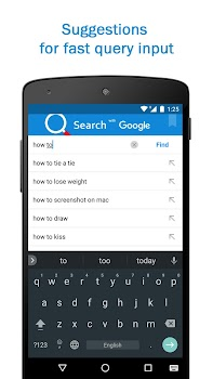 Smart Search and Web Browser – light and fast engine