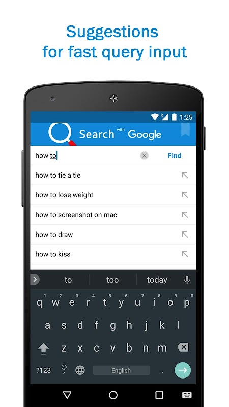 Smart Search & Web Browser – light & fast engine screenshots