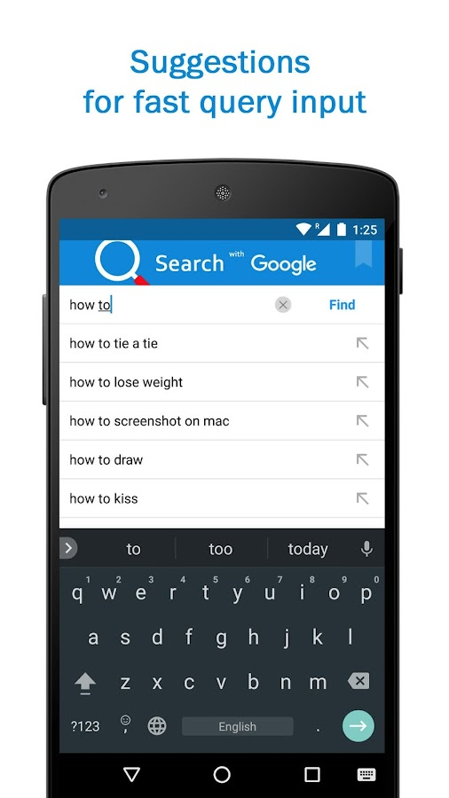 Smart Search & Web Browser – light & fast engine- screenshot