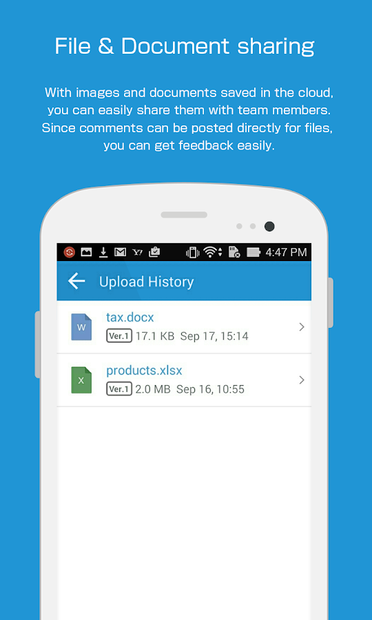 tocaro - Team Communication- screenshot