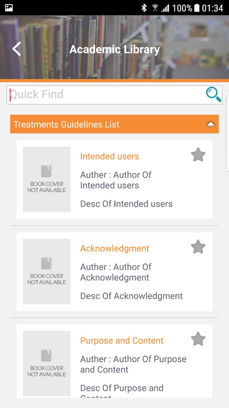 Скриншот GDM (Gulf Diabetes Masterclass)