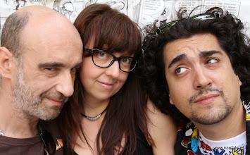 Photo: 20.09.2014.- HUESCÓMIC 2014 Kalitos, Iru y Carlos Melgares