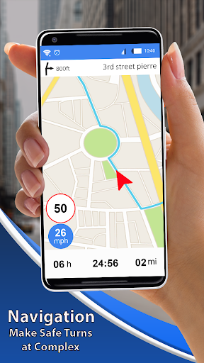 Earth Map Live GPS:Navigation & route planner 2019 screenshot 6