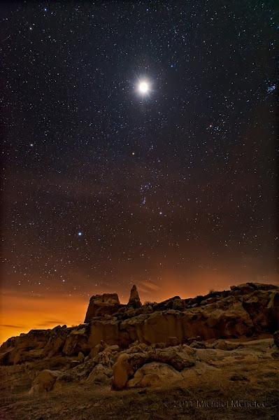 Photo: Martian Lunar Eclipse Landscape