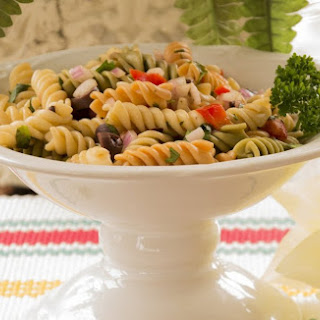 Tri-Colored Pasta Salad.
