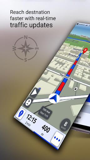 GPS Offline Maps, Directions screenshot 9