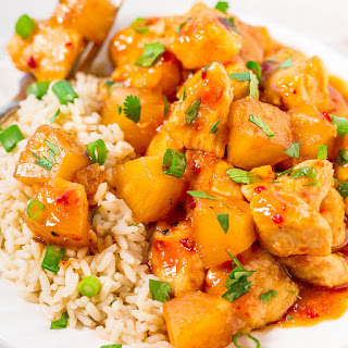 Slow Cooker Hawaiian Chicken with Pineapple