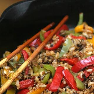 Pepper-fried Rice
